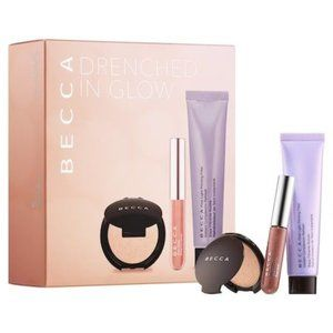 BECCA Drenched in Glow 3 Piece Mini Makeup Set NWT